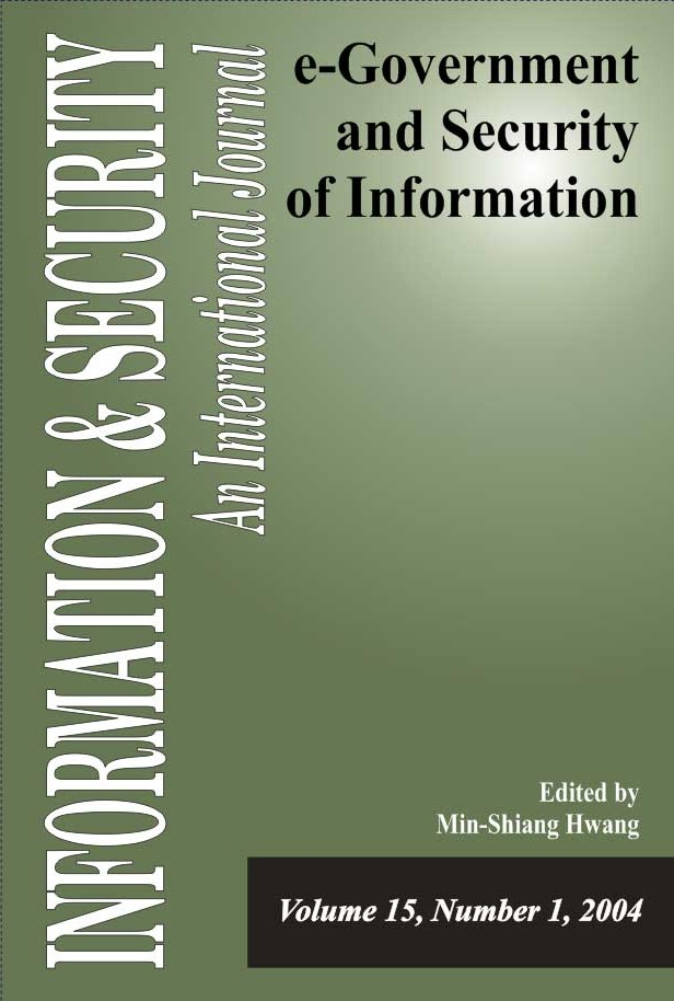 I&S 15: e-Government and Security of Information-1