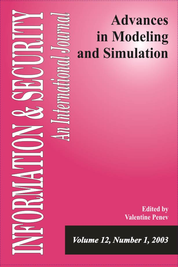 I&S 12: Advances in Modeling and Simulation-1