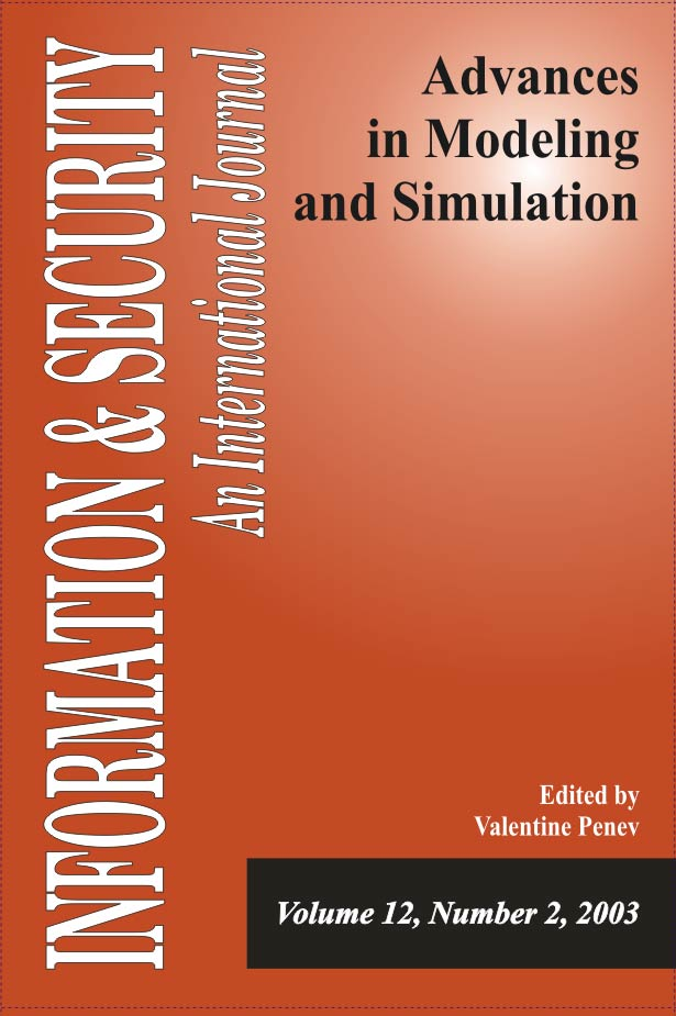 I&S 12: Advances in Modeling and Simulation-2