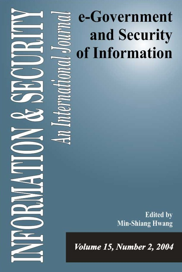 I&S 15: e-Government and Security of Information-2