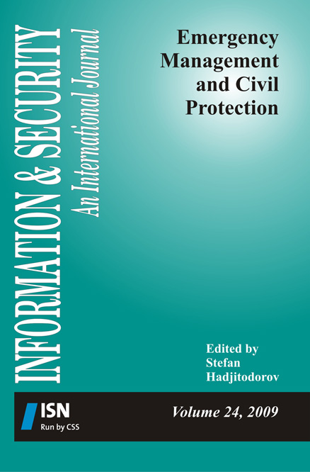 Edited by Stefan Hadjitodorov  This volume provides a comprehensive overview of requirements definition, approaches and methods for assessing threats and hazards, strategy development and planning of capabilities for emergency management and civil protection (and more broadly, for security sector transformation), as well as approaches to preparing the population and the healthcare system for cases of radiation accidents and nuclear terrorism and analysis of reasons for incidents with radioactive sources and preventive measures. Information & Security, Volume 24, 2009