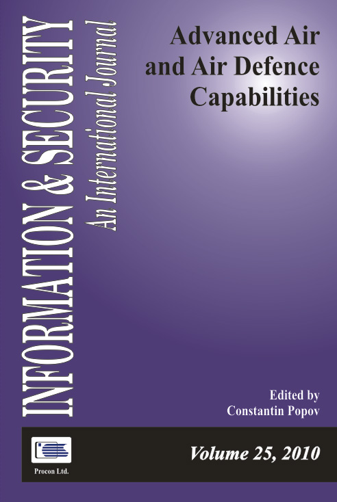 Edited by Constantin Popov  This volume presents the views of senior air force officers and policy makers, including the Commander of the Bulgarian Air Force, on current and future requirements, priorities, capability development, and the overall decision-making framework for selecting a multirole fighter aircraft. The second group of articles presents respective decision-support concepts, methods and tools, and suggestions on roles the academic community, NATO and NATO agencies may play in the process. Information & Security, Volume 25, 2010