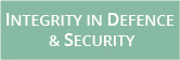 INTEGRITY IN DEFENCE & SECURITY (banner)
