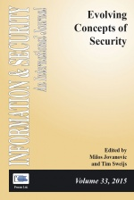 ISIJ 33: Evolving Concepts of Security (cover)
